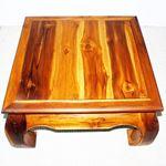 Thai Opium Table 29 x 29 x 16 in H Oak-4